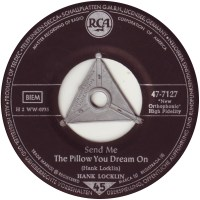 45cat - Hank Locklin - Send Me The Pillow You Dream On ...