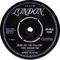45cat - Johnny Tillotson - Send Me The Pillow You Dream On ...