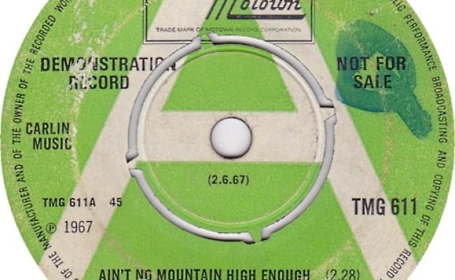 Marvin Gaye & Tammi Terrell: Ain't No Mountain High Enough   Guitar