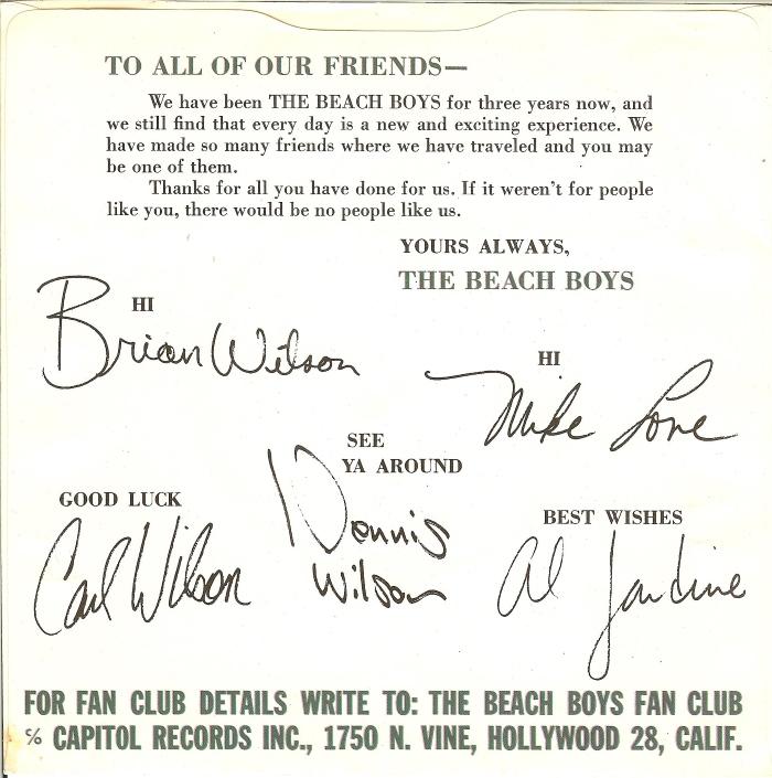 45cat - The Beach Boys - I Get Around / Donu0027t Worry Baby