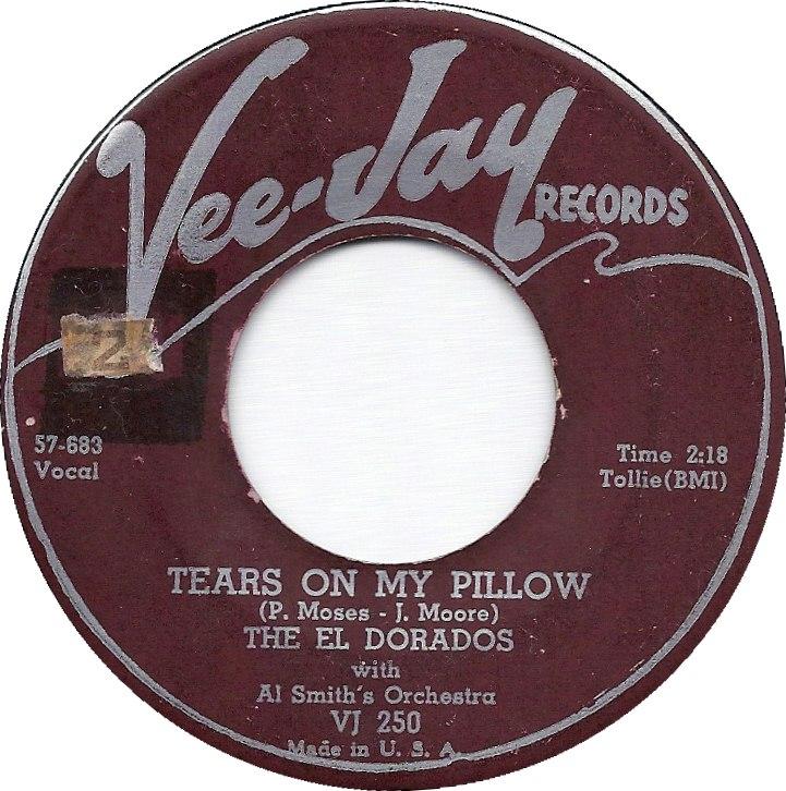 45cat The El Dorados A Rose For My Darling Tears On