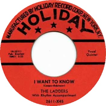 45cat - The Ladders - I Want To Know / Counting The Stars - Holiday