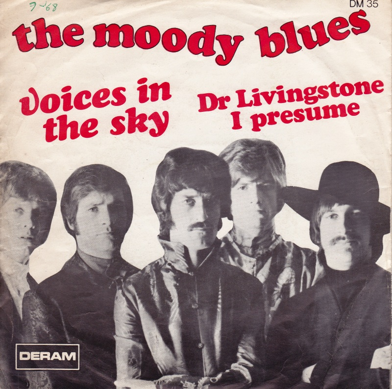 45cat - The Moody Blues - Voices In The Sky / Dr Livingstone I - dr livingstone i presume book
