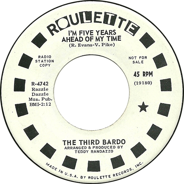 45cat - The Third Bardo - I\u0027m Five Years Ahead Of My Time / Rainbow - in five years time