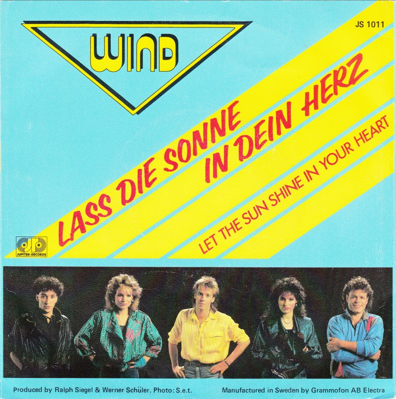 Lass Die Sonne Rein 45cat - Wind [germany] - Lass Die Sonne In Dein Herz / Let