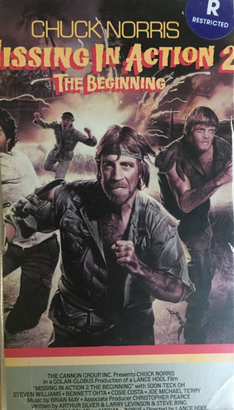 VHS - Missing In Action 2 The Beginning - MGM / UA Home Video - USA