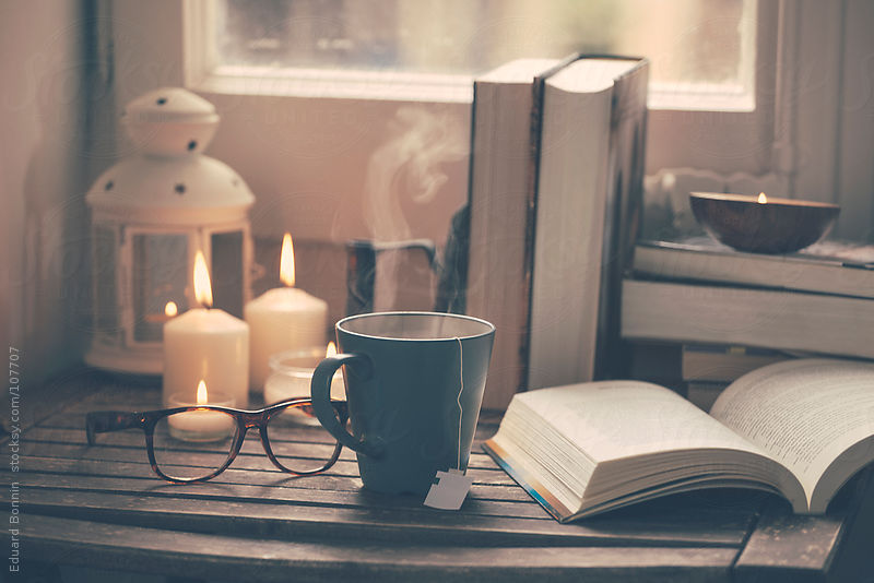 Cozy Fall Hd Wallpaper 8tracks Radio A Book And A Cup Of Tea Is All I Need 11