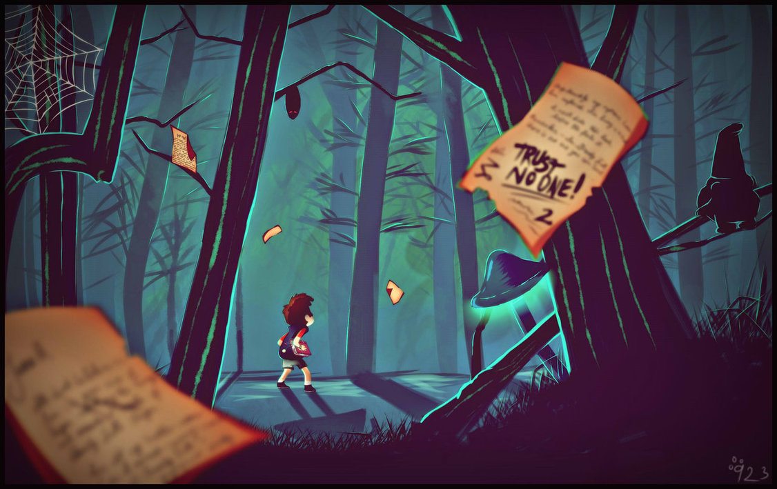 Gravity Falls Trust No One Wallpaper 8tracks Radio Trust No One 10 Songs Free And Music