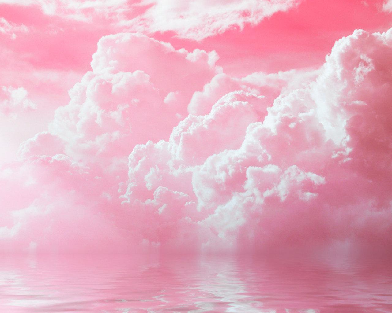 Cute Iphone Wallpaper Ideas Pink Cloud