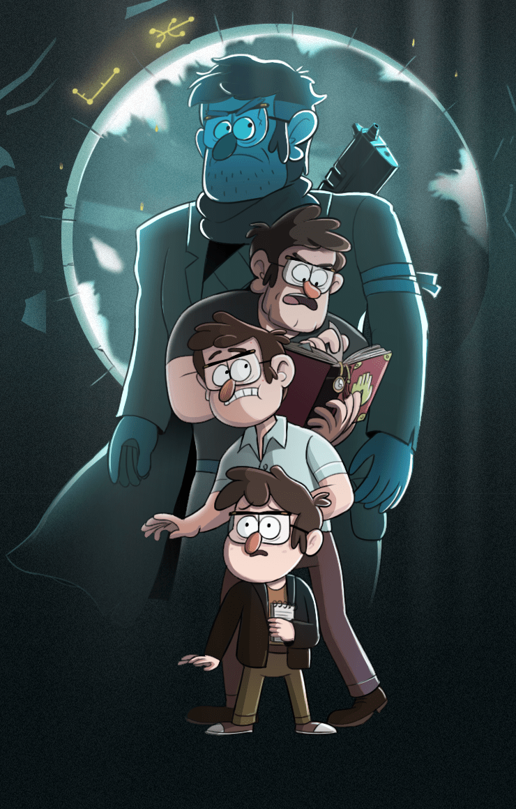 Gravity Falls Fan Art Wallpaper 8tracks Radio Stanford Pines The Man Who Changed The