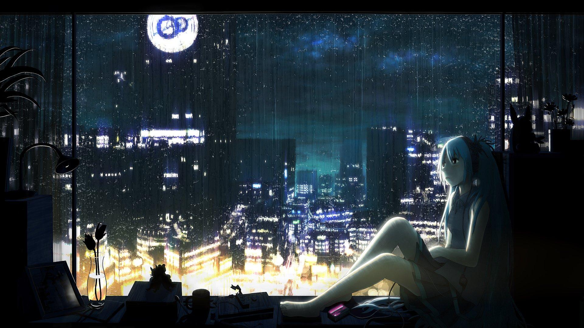 Anime Girls Headphones And Radio 1920x1080 Wallpaper 8tracks Online Radio Stream 17 Playlists By