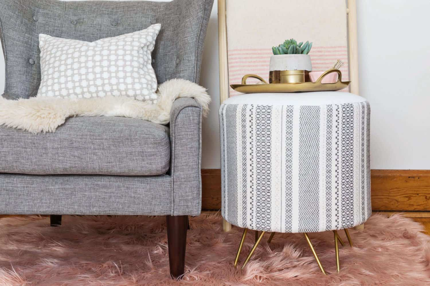 Build Your Own End Table Build Your Own Upholstered Side Table A Beautiful Mess