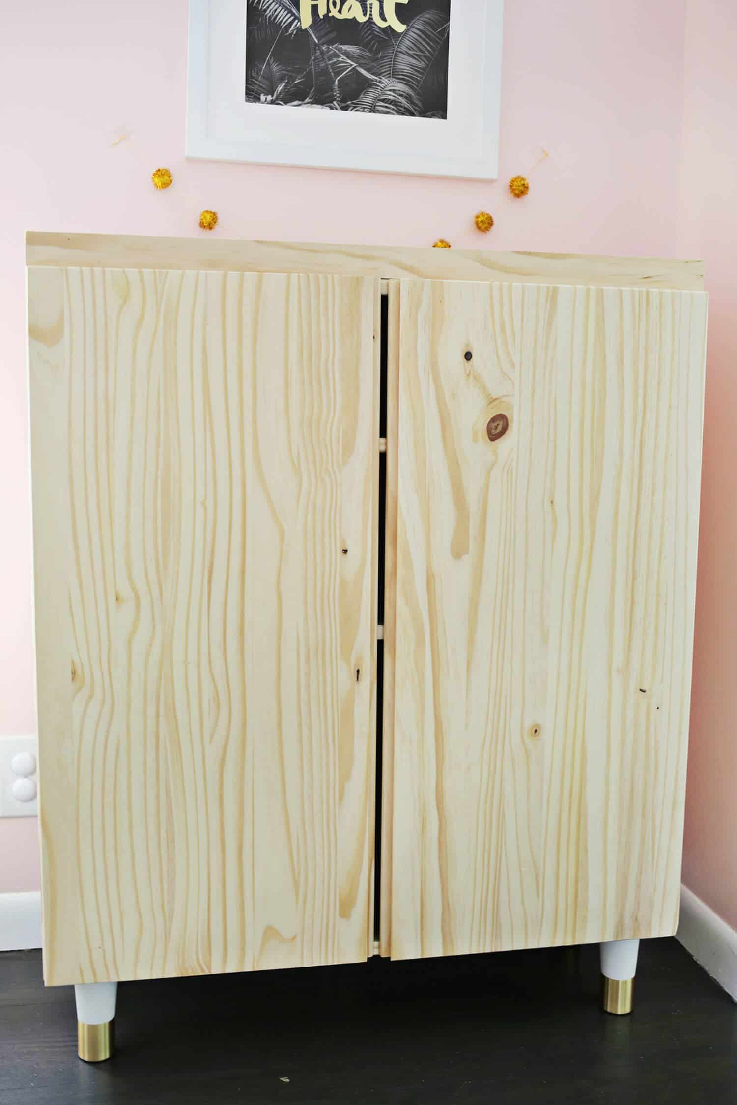 Ikea Wardrobe Leaning To One Side Ikea Ivar Cabinet Hack Turned Into A Bar Cabinet A
