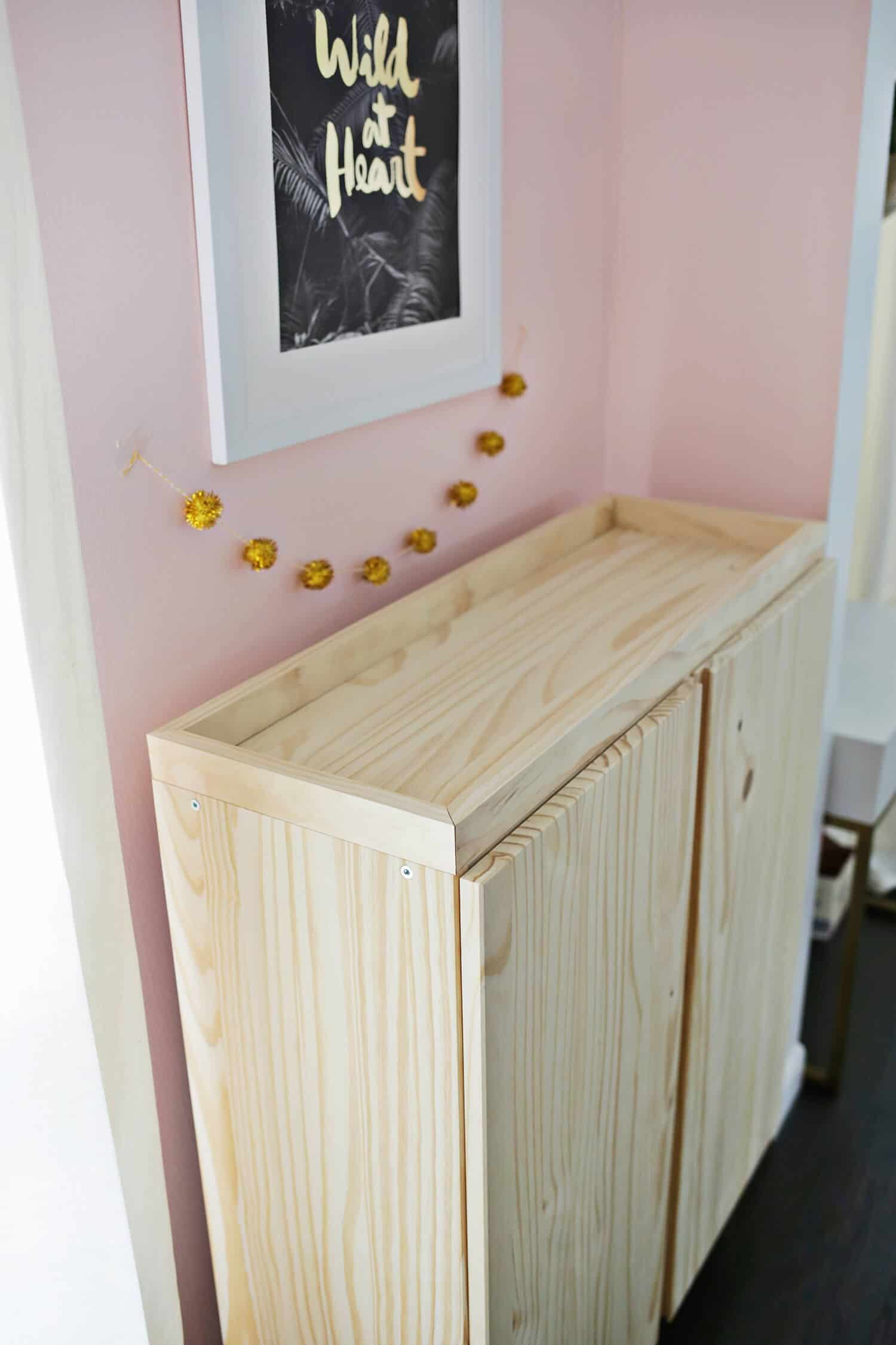 Ikea Meuble Bar Ikea Ivar Cabinet Hack Turned Into A Bar Cabinet A Beautiful Mess