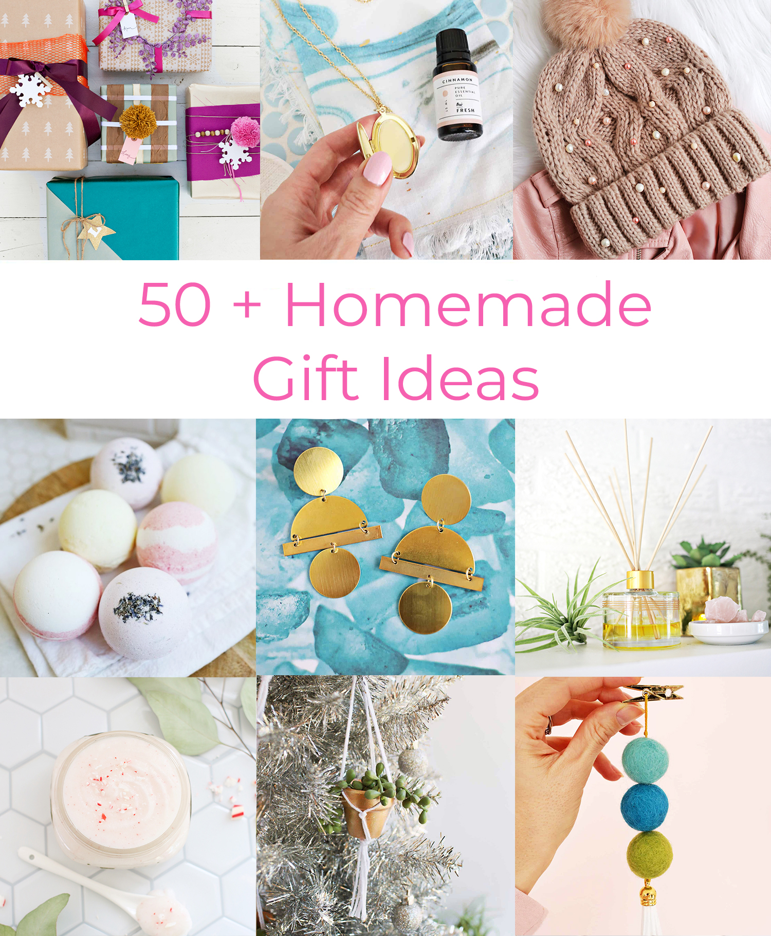 Christmas Homemade Gifts 50 Homemade Gift Ideas A Beautiful Mess