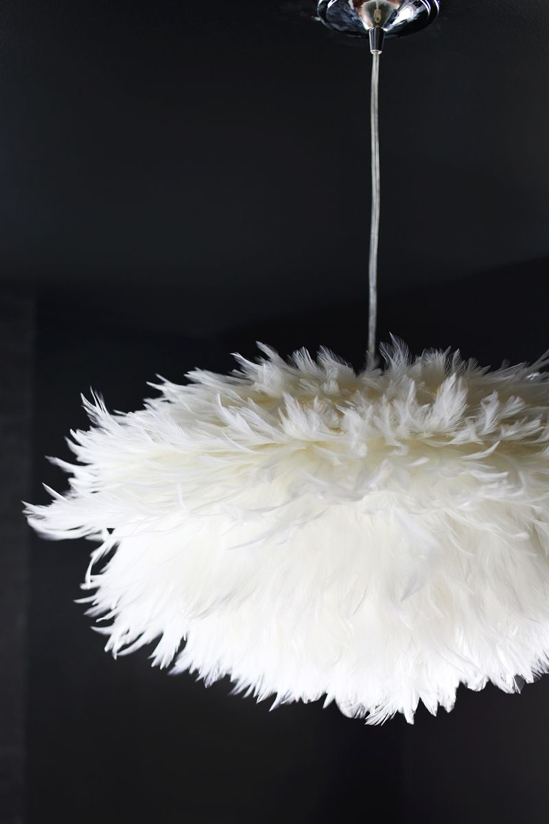 Diy Pendant Lights Australia Diy Feather Pendant A Beautiful Mess