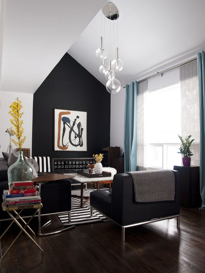 Black Accent Walls At Home With Sarah Brown A Beautiful Mess