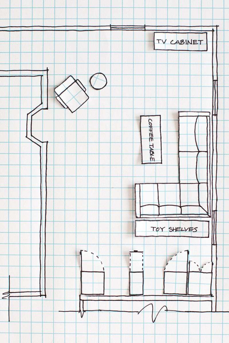 House Plan Drawing How To Draw A Floor Plan A Beautiful Mess