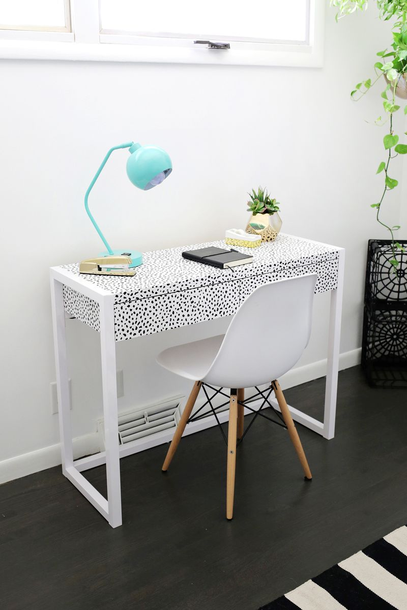 Wallpaper For Desk 8 Ways To Use Removable Wallpaper A Beautiful Mess