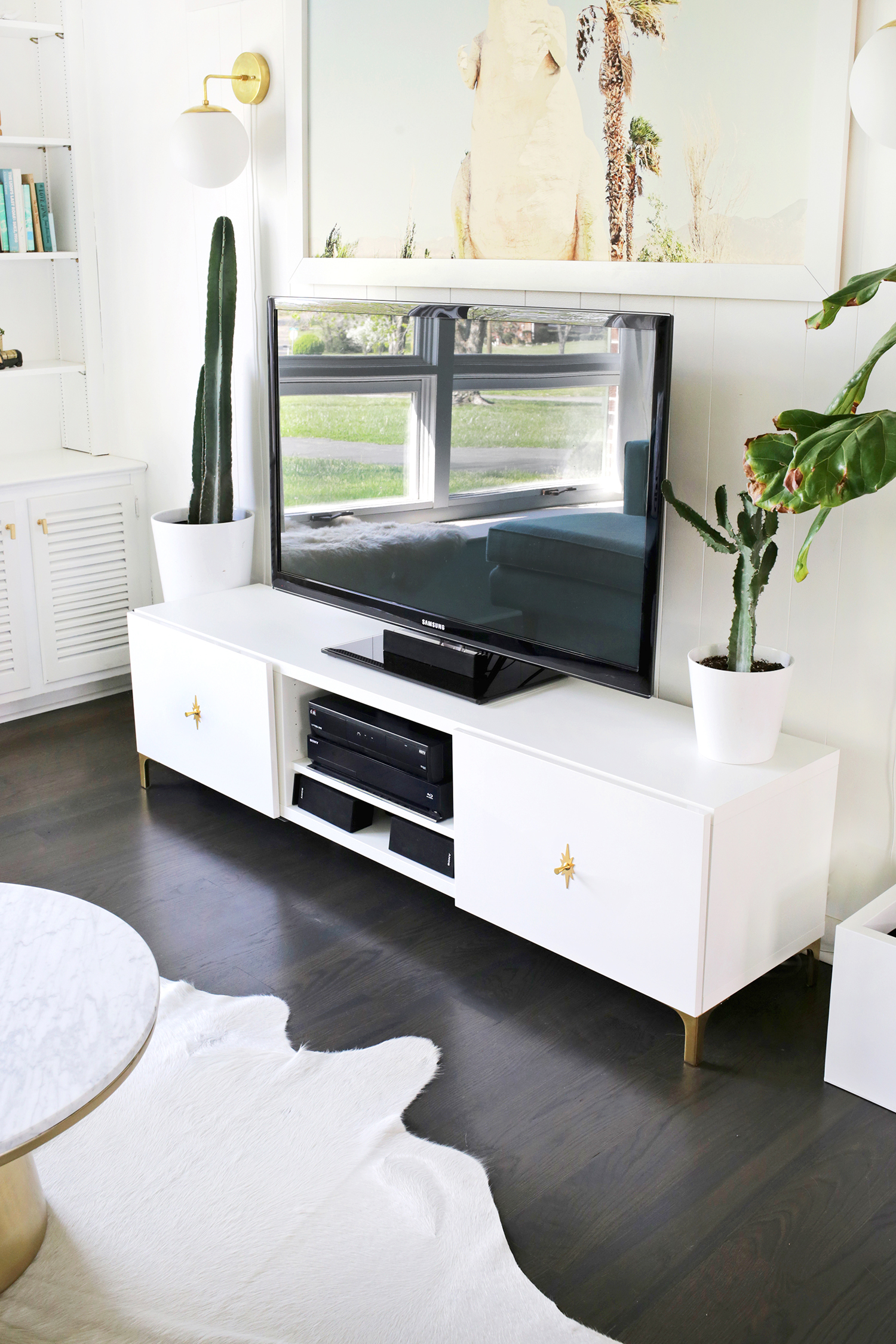 Design Tv Rack Cool Tv Rack With Tv Rack With Design Tv Rack Ikea Restyle Mid Century Tv Stand A Beautiful Mess