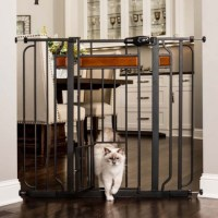 Carlson Design Paw Extra Tall Expandable Pet Gate with Door