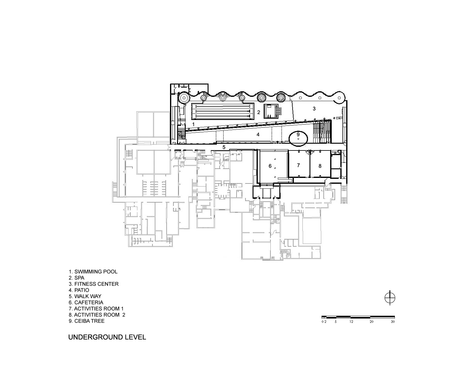 Gallery Of Pwcc Spa Fitness Center Plan