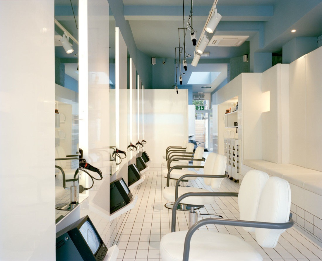 Salon Architecture Gallery Of The Klinik Hair Salon Block Architecture 2