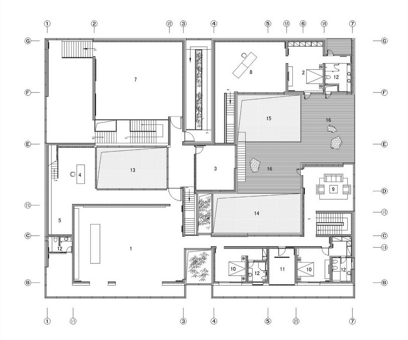 Architecture Design House Plans Gallery Of The Concave House Tao Lei Architect Studio 22