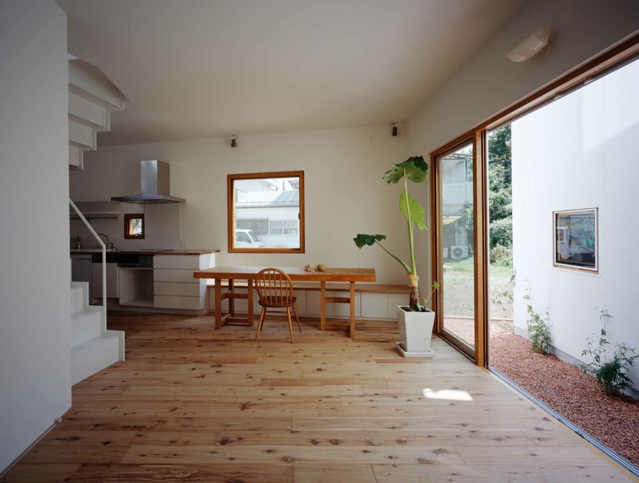 Pics Of Houses Inside Gallery Of Inside House And Outside House Takeshi Hosaka