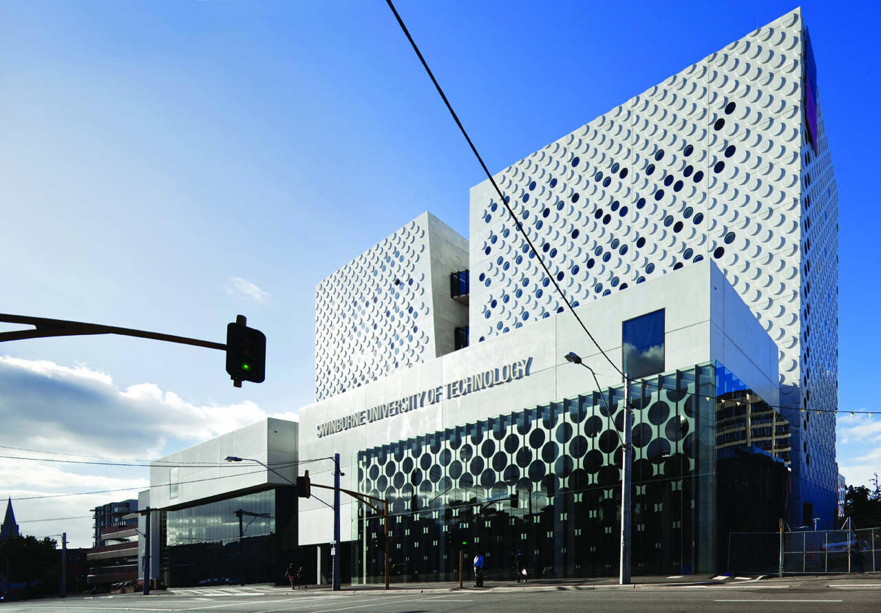 Centre Commercial Buld Air The Swinburne University Of Technology H2o Architects