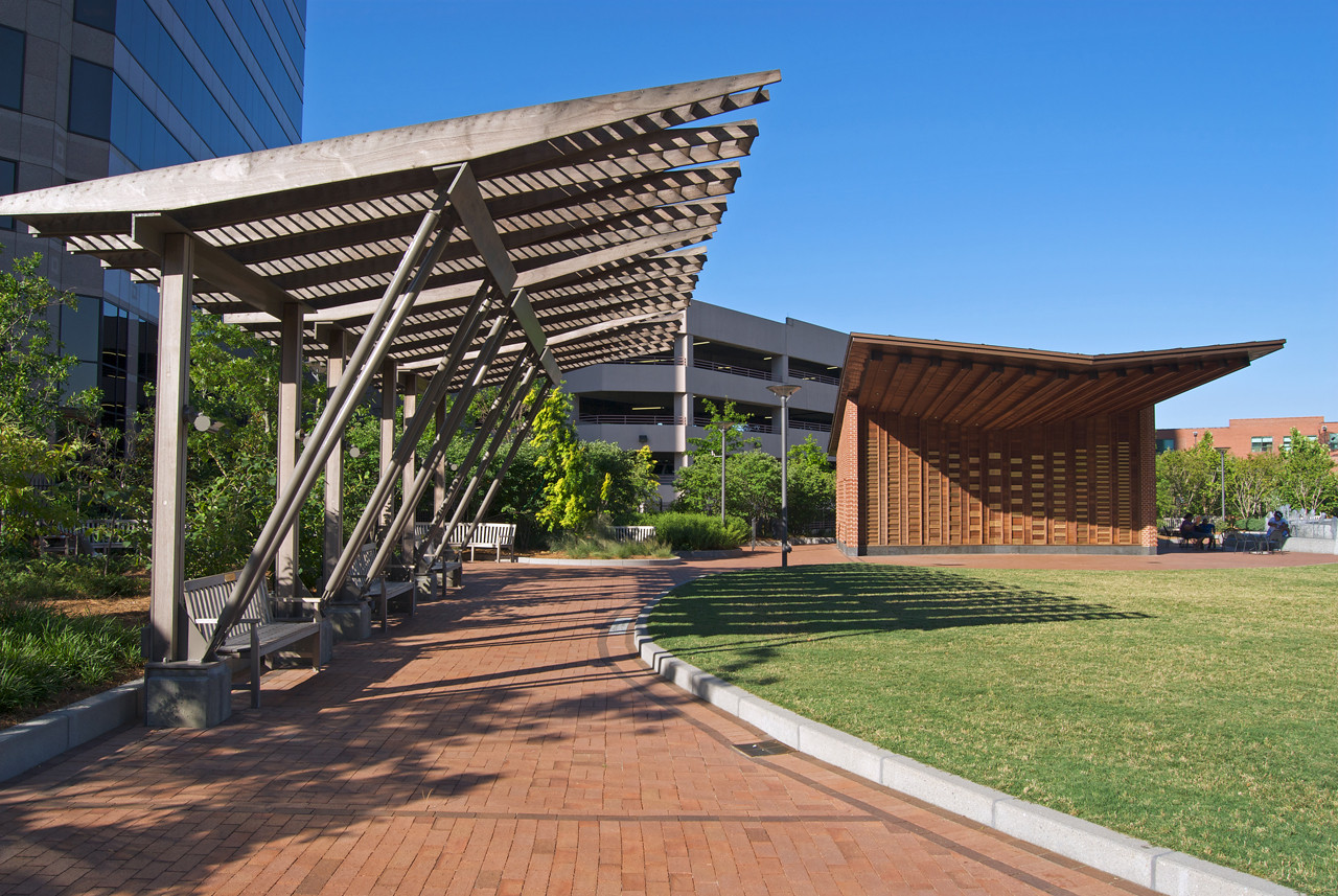Gallery of Center City Park Pergolas & Pavilion