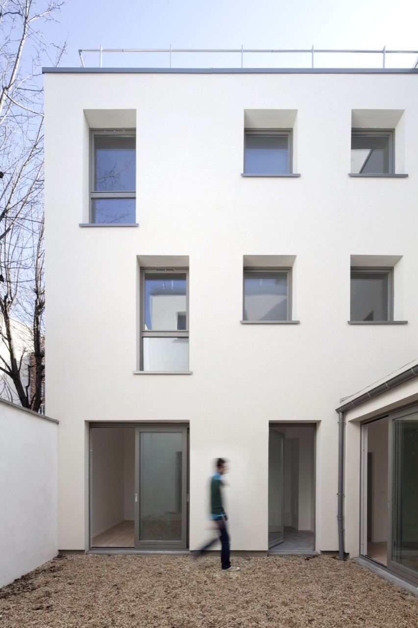 Architecte Paris 10 Gallery Of 10 Logements Paris Rmdm Architectes 3