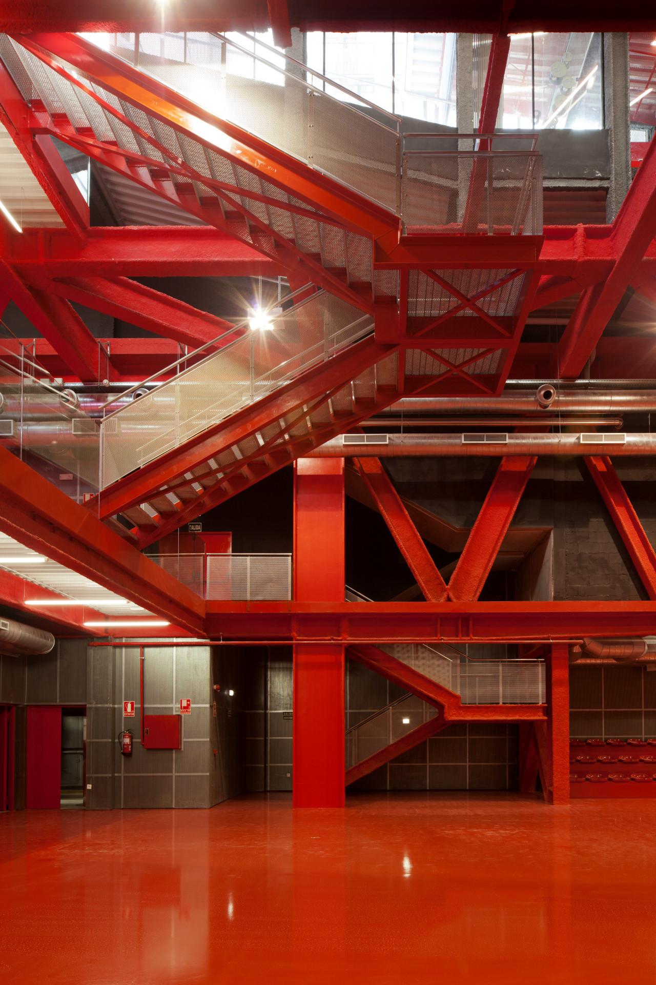 Gallery Of Teruel Zilla Mi5 Arquitectos Pkmn Pacman Auto Wiring Diagram