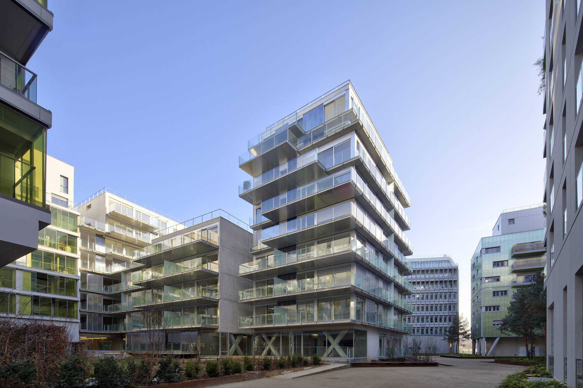 Architecte Boulogne Billancourt Gallery Of 73 Apartments Zac Seguin Rives De Seine Lot