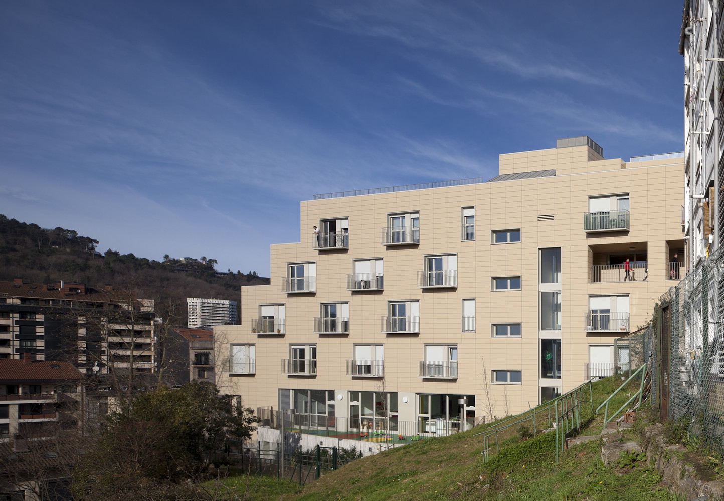 Arquitectura San Sebastian Gallery Of Apartments For Young People Nursery And Park In San