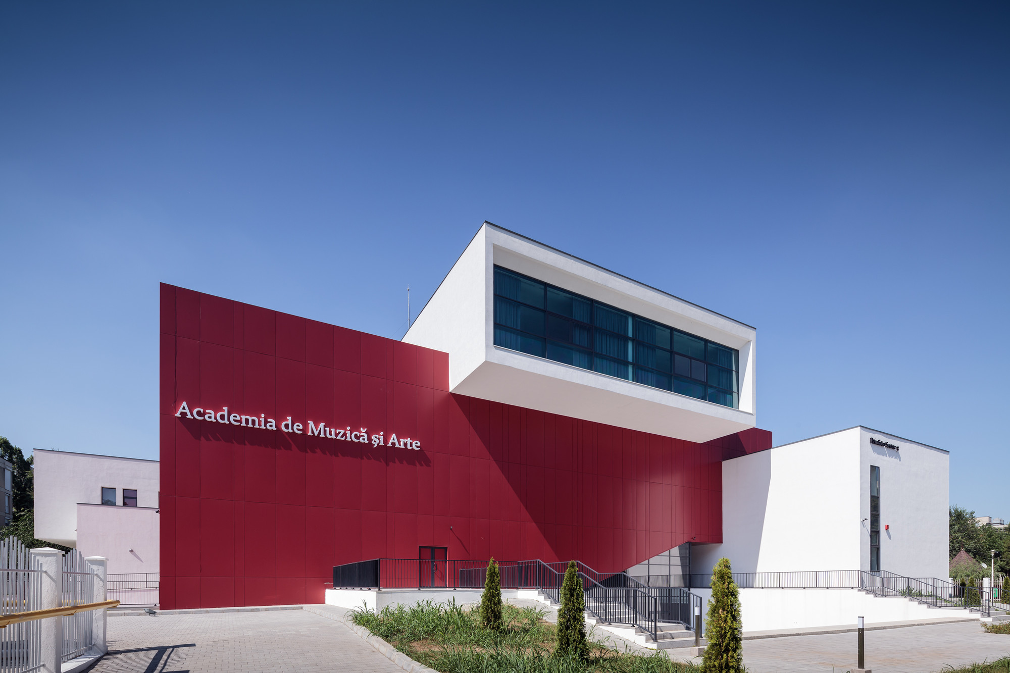 Arte Cafe Guadalajara School Of Music And Arts Ltfb Studio Archdaily
