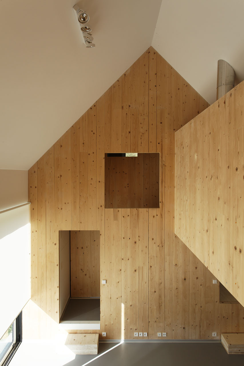 Meuble Tv Bouleau Gallery Of G House / Lode Architecture - 4