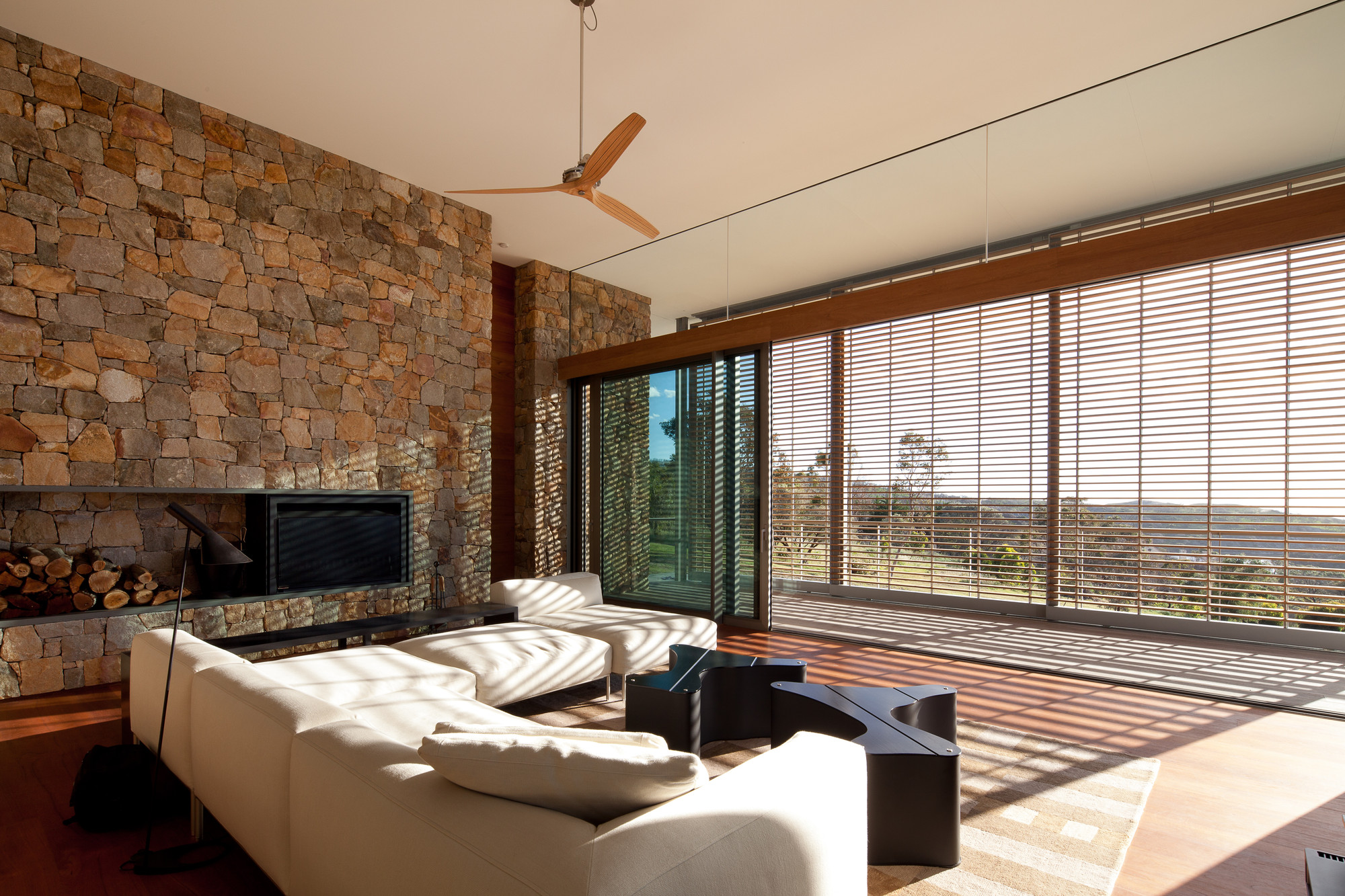 Raumbeleuchtung Wohnzimmer Gallery Of House In South Western Australia Tierra