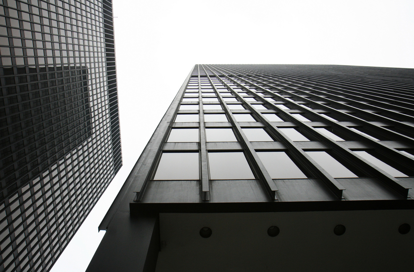 Van Der Rohe Ad Classics Chicago Federal Center Mies Van Der Rohe Archdaily