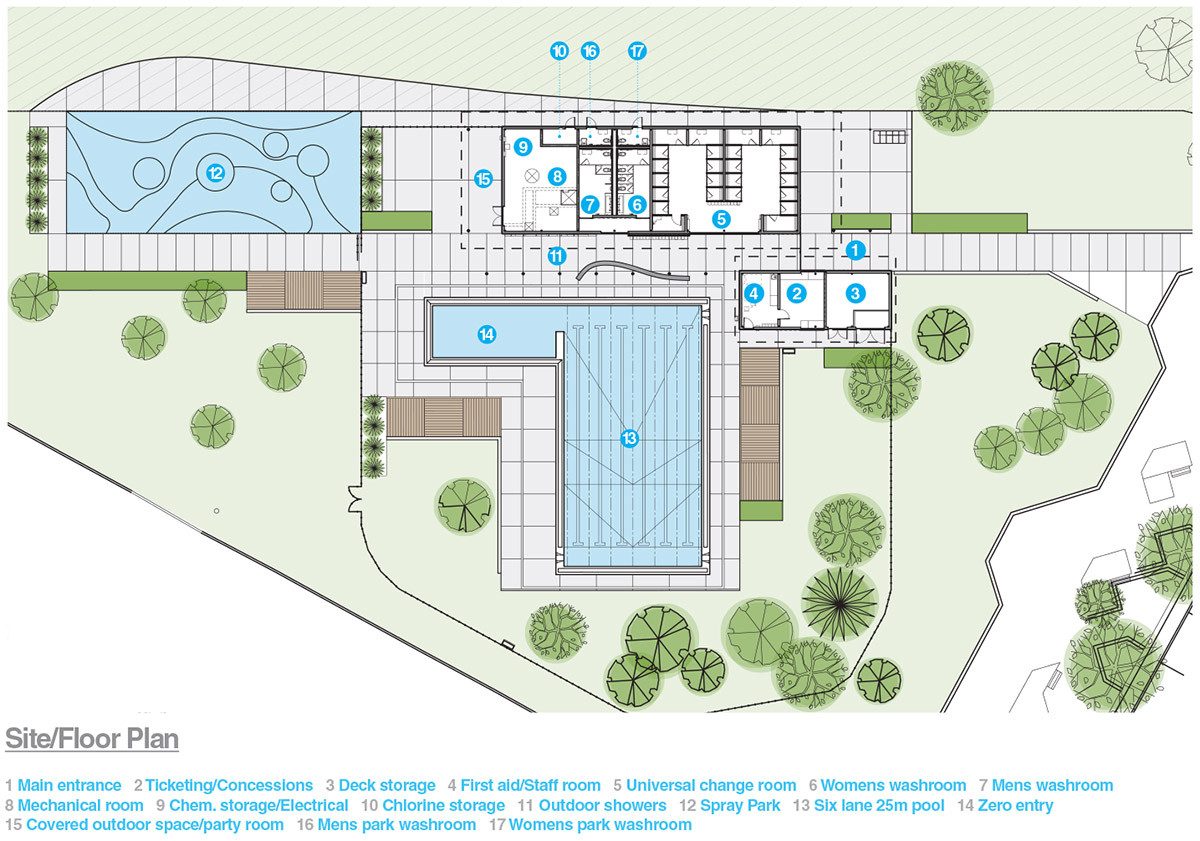 Queen Elizabeth Outdoor Pool / Group2 Architecture