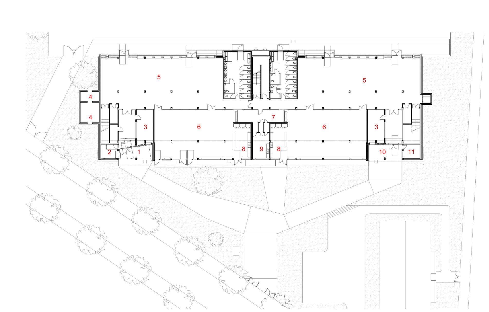 Henri Wallon Primary School Lem Architectes Archdaily