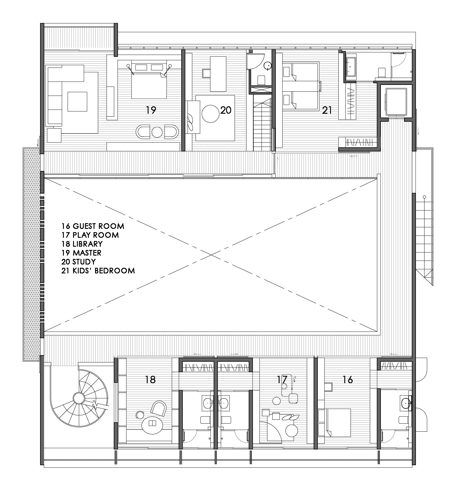 2nd Floor House Plans Gallery Of The Courtyard House Formwerkz Architects 13