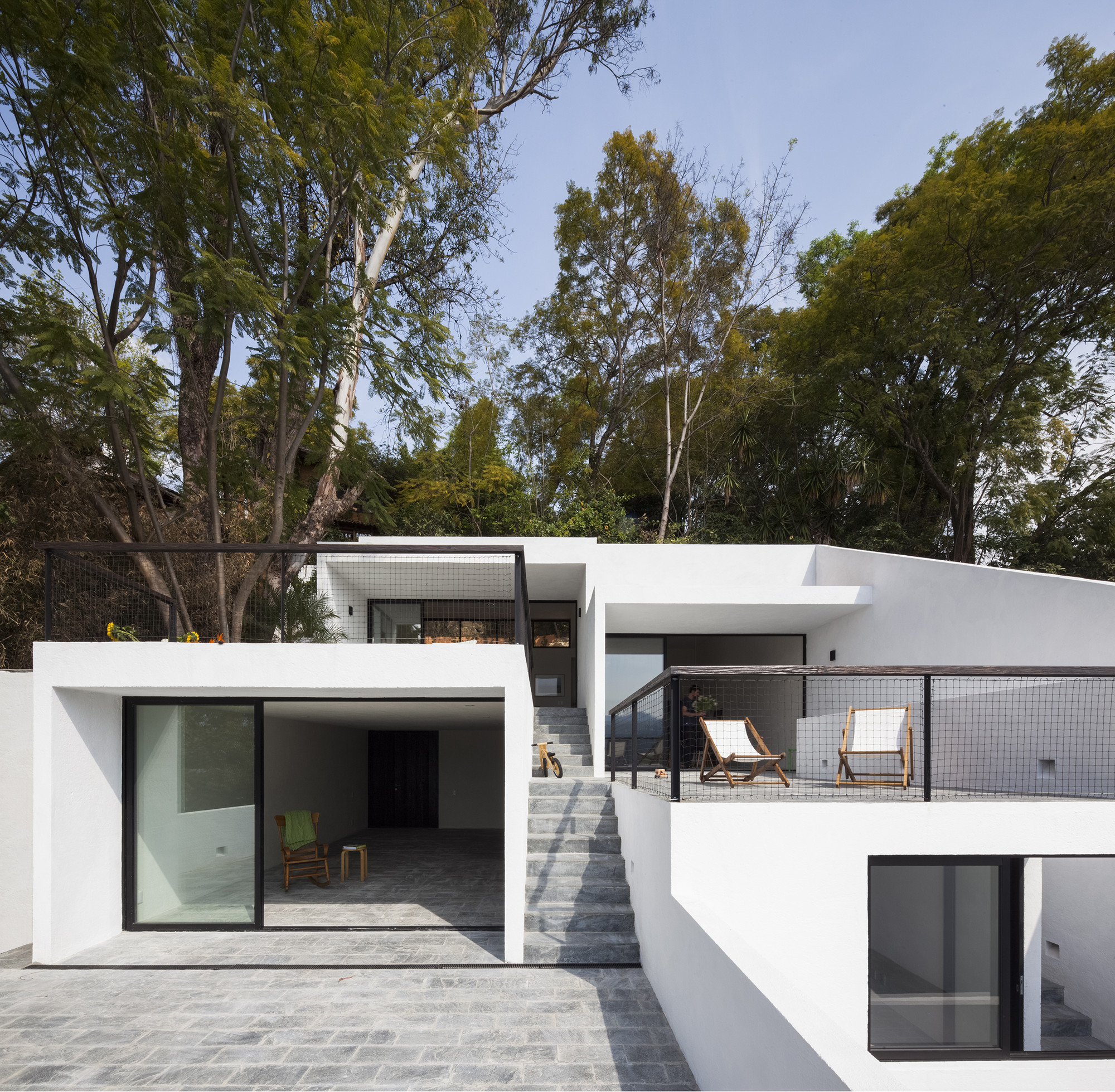House Of Stairs Valle De Bravo Tag Archdaily