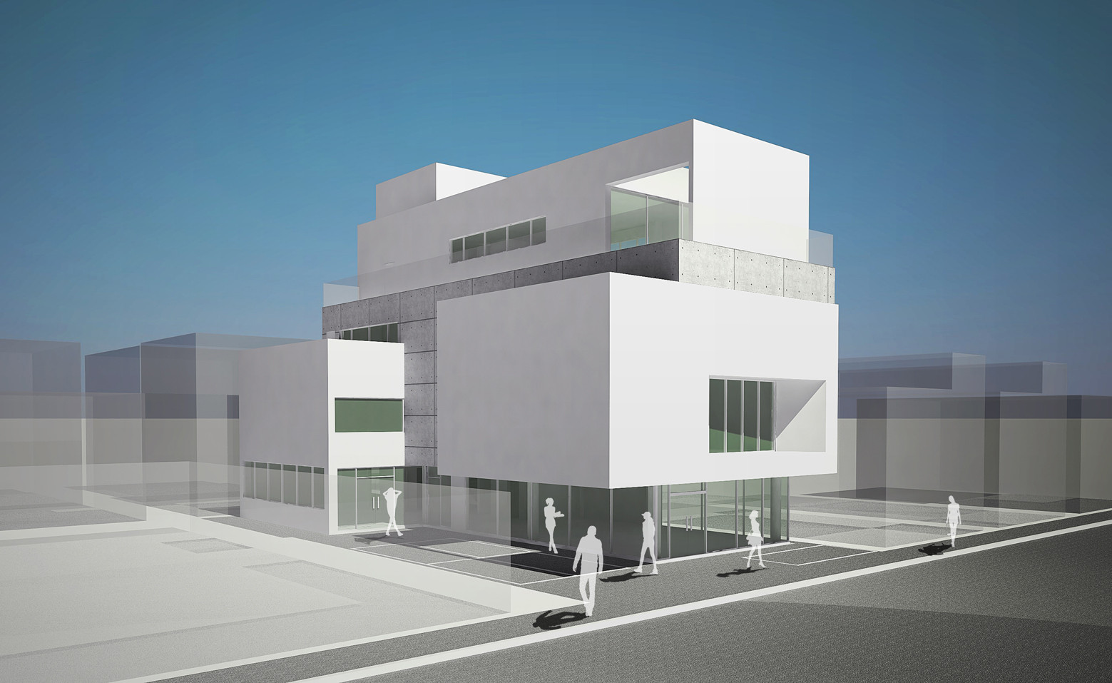 3d Raum Gallery Of Maroin Office Building Architects Group Raum 22