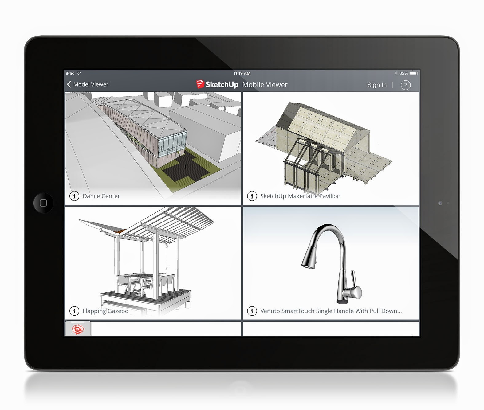 3d Zeichnen Programm Kostenlos Sketchup Announces Mobile Viewer For Ipad Archdaily