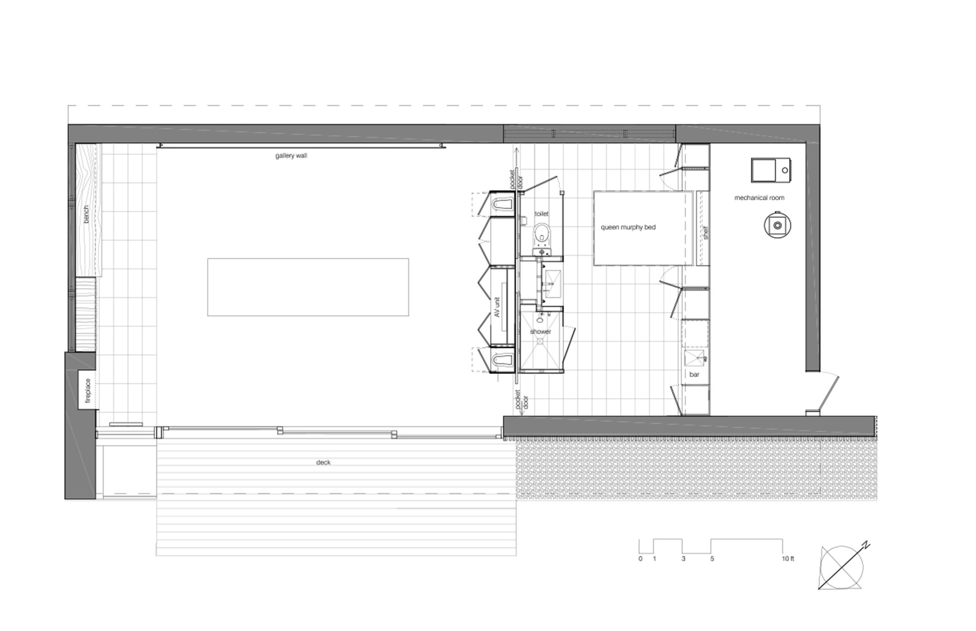 Pool House Plans Gallery Of Poolhouse 43tongtong 14
