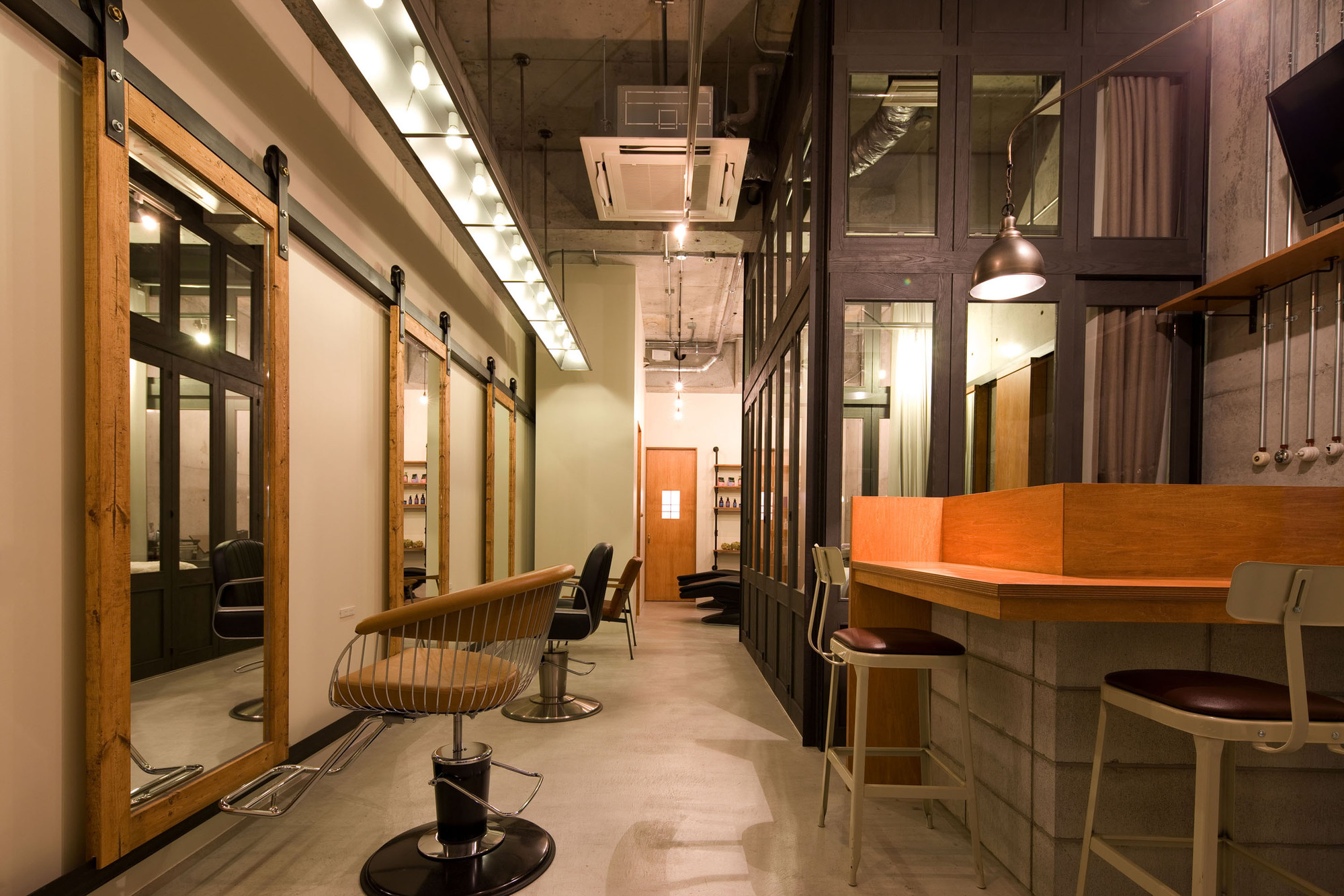 Salon Architecture Ki Se Tsu Hair Salon Iks Design Archdaily