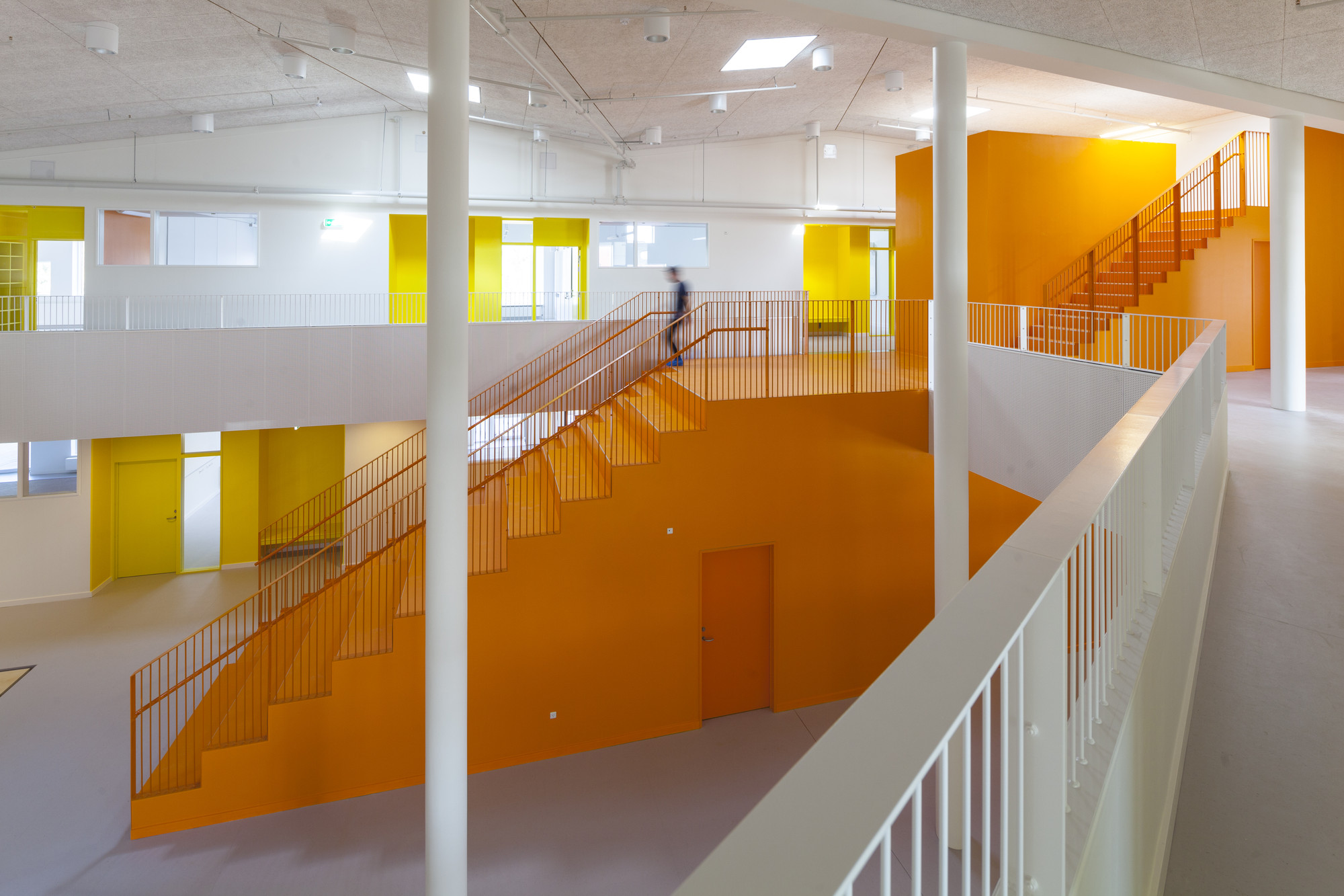 Interieur Geluk Gallery Of The Vibeeng School Arkitema Architects 3
