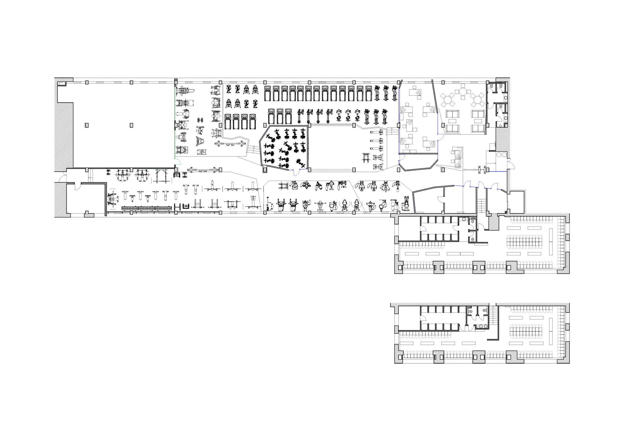 Gallery Of Smena Fitness Club Za Bor Architects 22