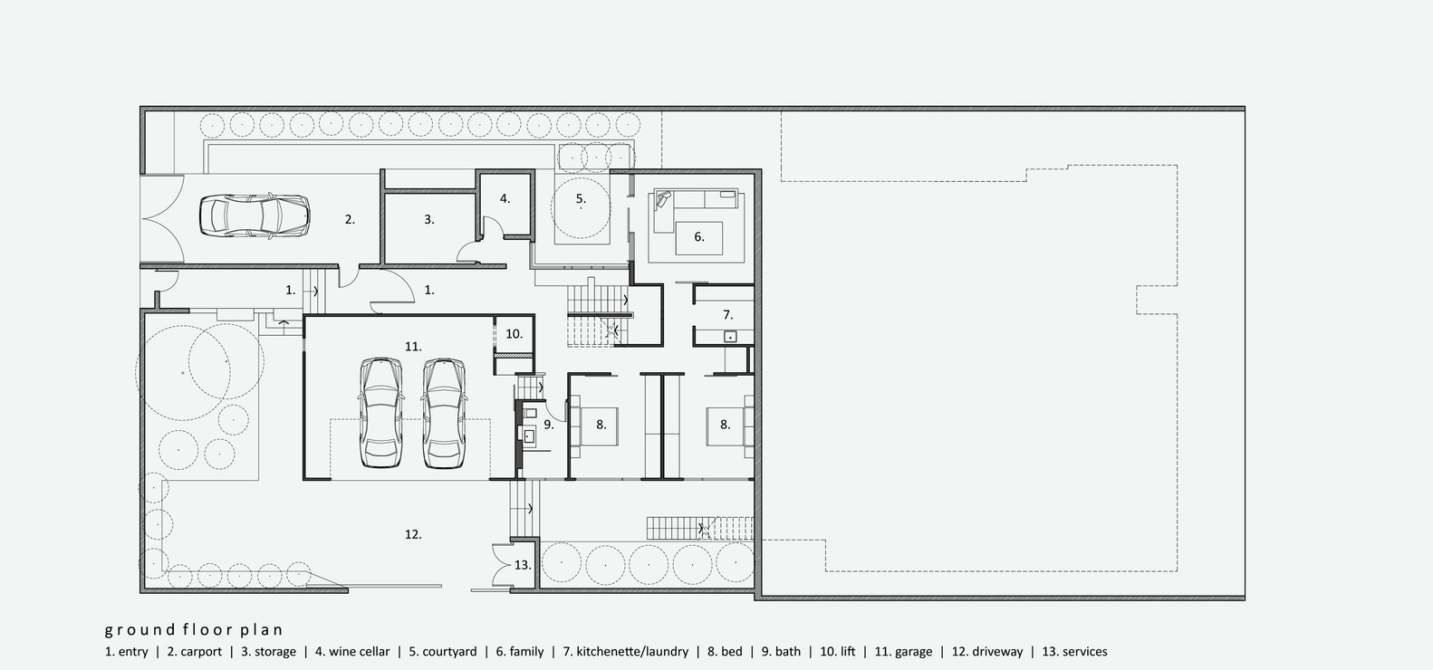 Floor Plan House Gallery Of Boarding House Shaun Lockyer Architects 16